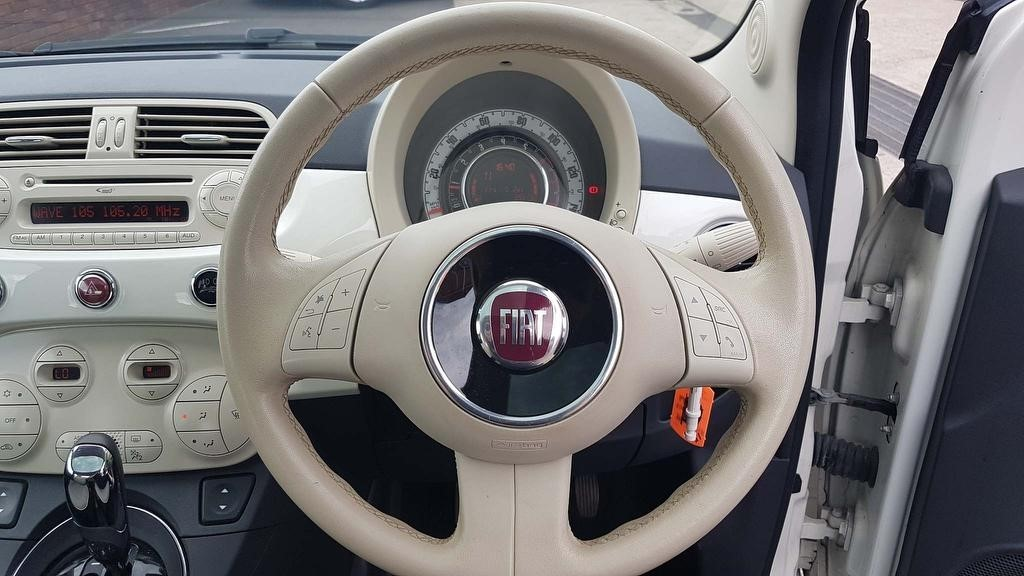 Used White Fiat 500 for Sale | Dorset