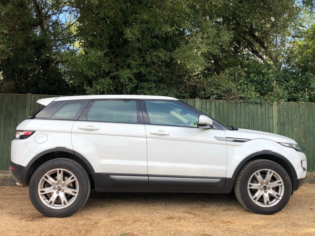 Used White Land Rover Range Evoque For Sale Dorset