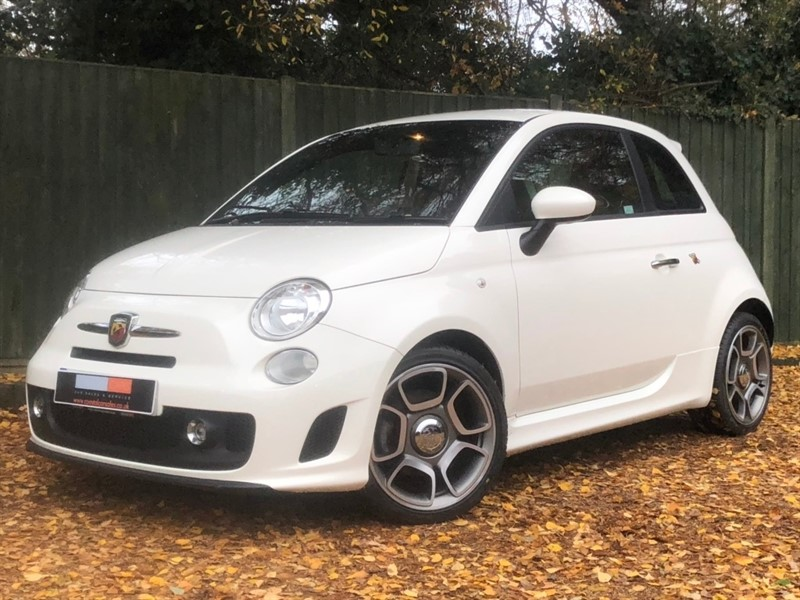 used Abarth 500 T-Jet 3dr in in-dorset