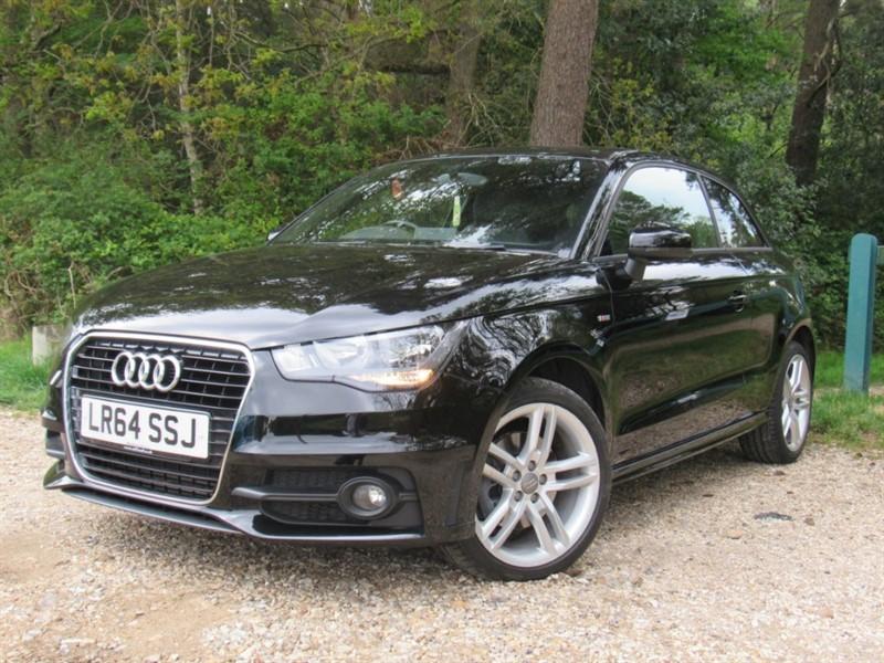 used Audi A1 TDI S Line Hatchback 3dr in in-dorset