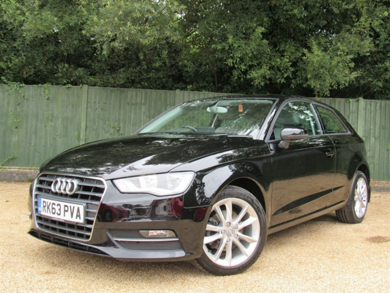 used Audi A3 TDI SE 3dr in in-dorset
