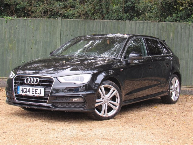 used Audi A3 TFSI S Line Sportback Tronic 5dr in in-dorset