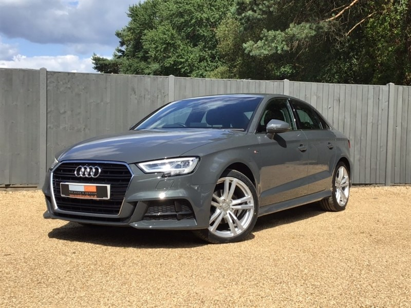 used Audi A3 TDI S line Tronic Auto 6Spd (s/s) 4dr in in-dorset