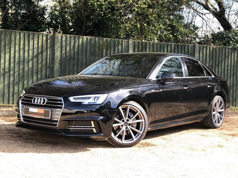used Audi A4 TDI S line Tronic (s/s) 4dr in in-dorset