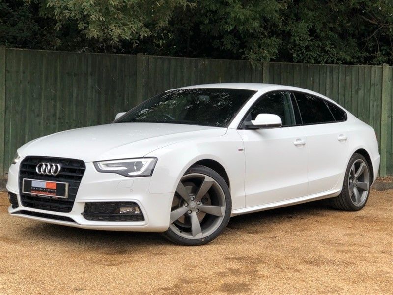 used Audi A5 TDI Black Edition Sportback 5dr in in-dorset