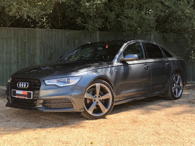 used Audi A6 Saloon TDI ultra Black Edition S Tronic 4dr in in-dorset