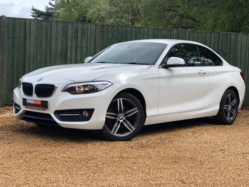 used BMW 220d 2 Series Sport (s/s) 2dr in in-dorset