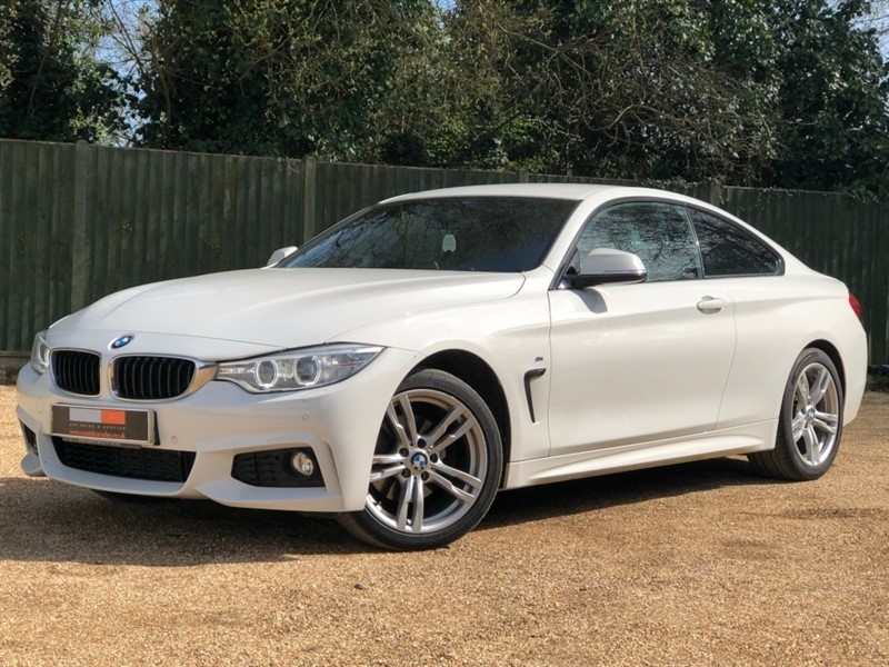 used BMW 420d 4 Series M Sport xDrive 2dr in in-dorset