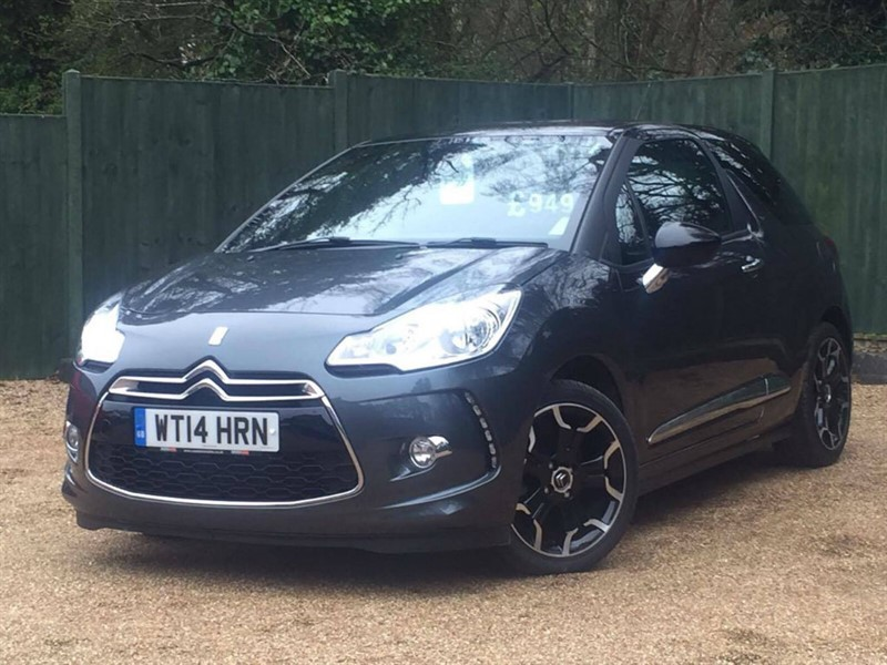 used Citroen DS3 e-HDi Airdream DStyle Plus 3dr in in-dorset