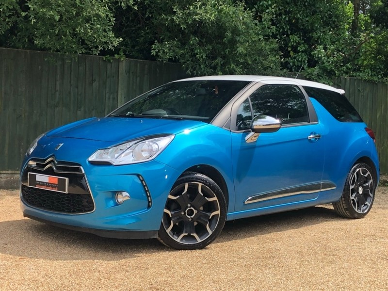 used Citroen DS3 e-HDi Airdream DSport Plus 3dr in in-dorset