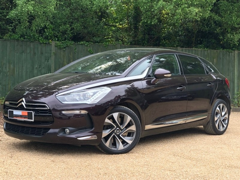 used Citroen DS5 BlueHDi DSport EAT6 5dr in in-dorset