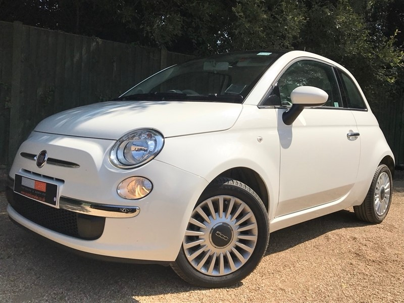 used Fiat 500 1.2 Lounge (s/s) 3dr in in-dorset