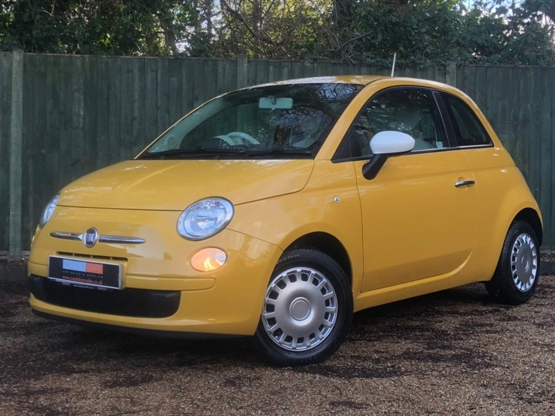 used Fiat 500 1.2 Colour Therapy 3dr in in-dorset