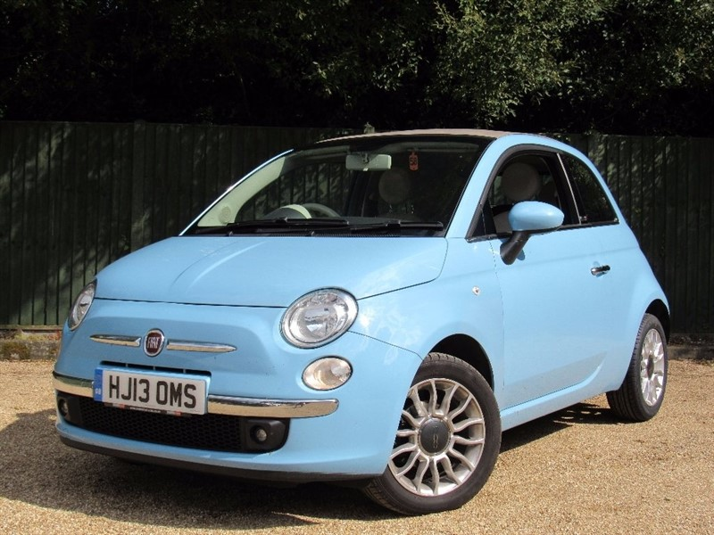 used Fiat 500C 1.2 Lounge 2dr in in-dorset