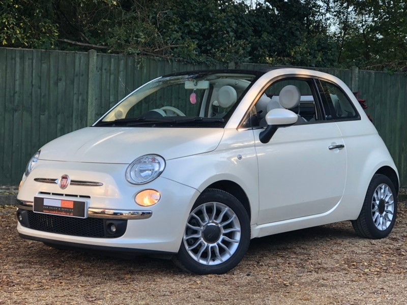 used Fiat 500C TwinAir Lounge 2dr in in-dorset