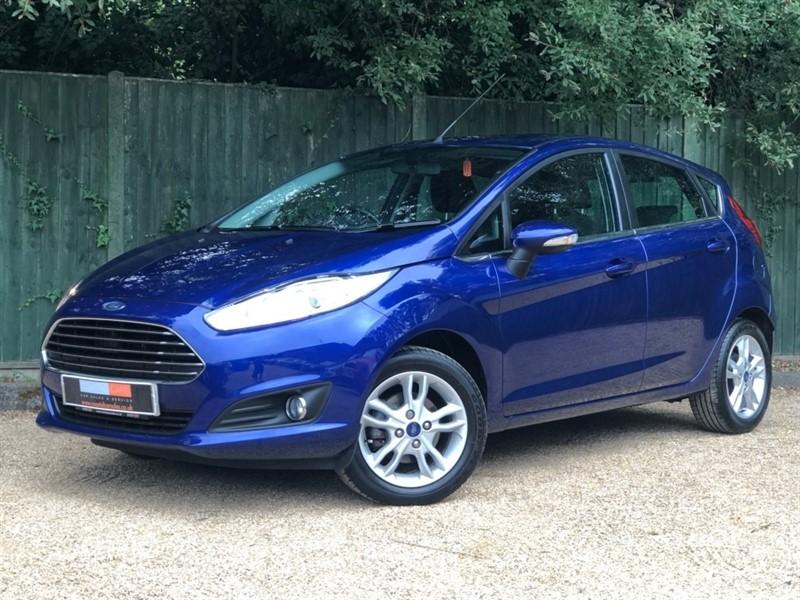 used Ford Fiesta EcoBoost Zetec (s/s) 5dr in in-dorset