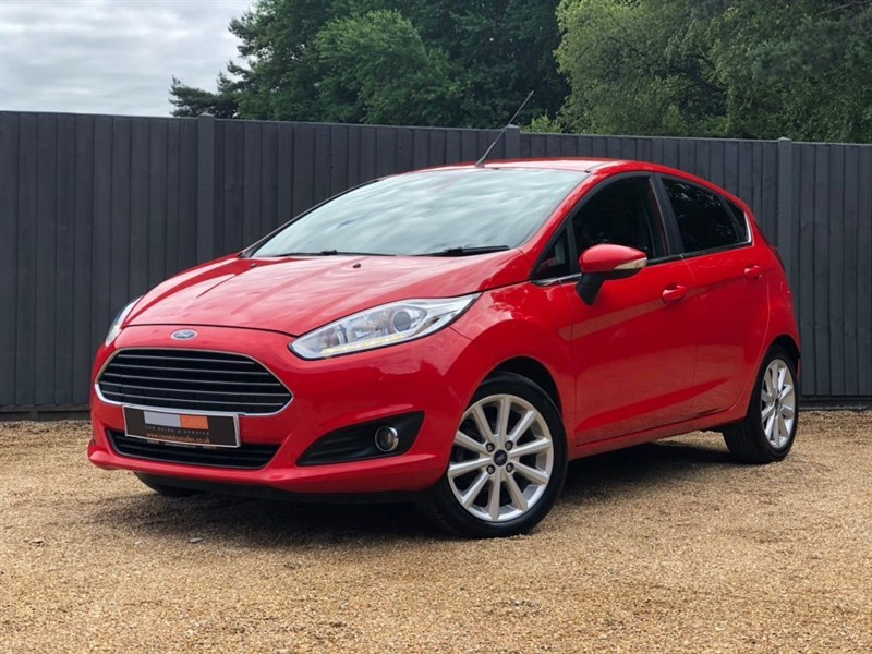 used Ford Fiesta T EcoBoost Titanium (s/s) 5dr in in-dorset