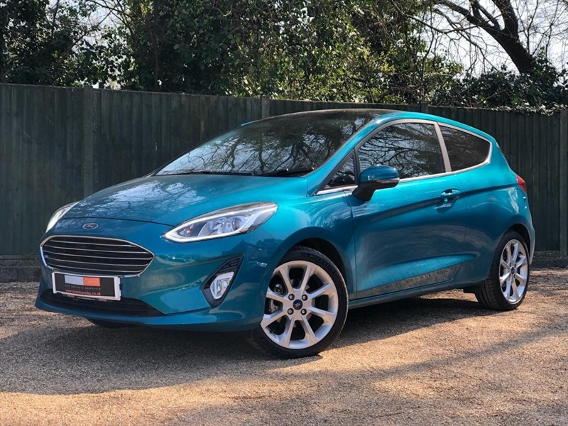 used Ford Fiesta T EcoBoost Titanium (s/s) 3dr in in-dorset