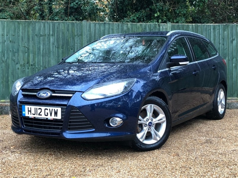 used Ford Focus Ti-VCT Zetec Powershift 5dr in in-dorset