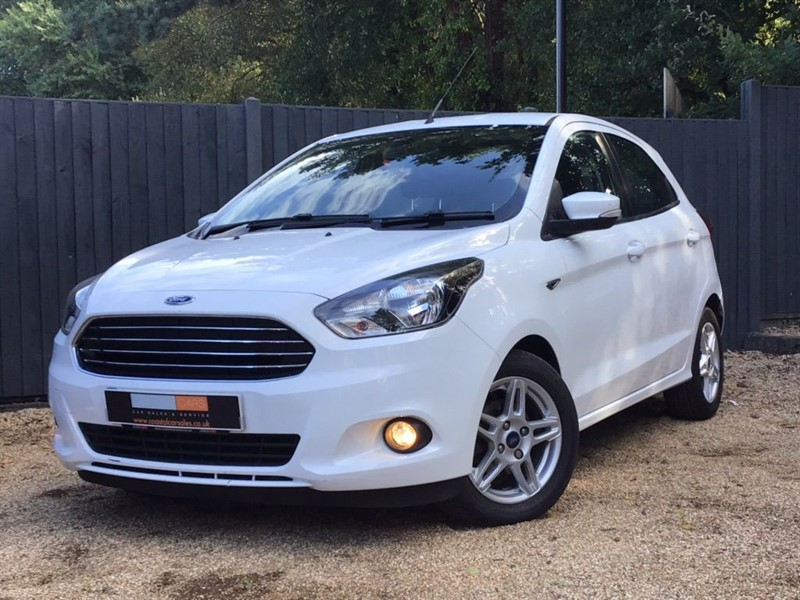 used Ford KA+ Ti-VCT Zetec 5dr in in-dorset