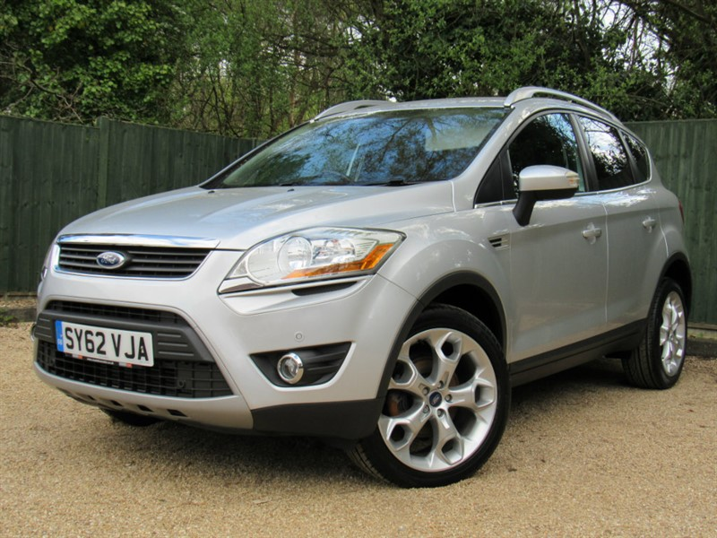 used Ford Kuga 2.0 TDCi Titanium 4x4 5dr in in-dorset