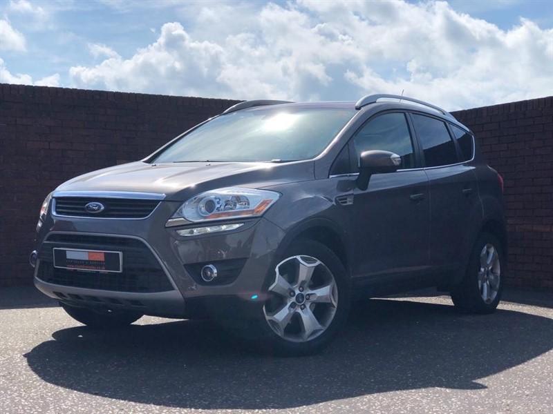 used Ford Kuga TDCi Titanium X 4x4 5dr in in-dorset