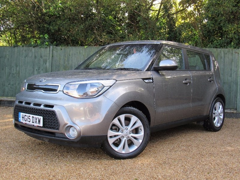 used Kia Soul CRDi Connect 5dr in in-dorset