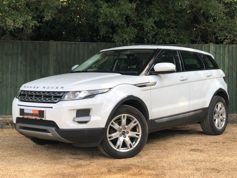 used Land Rover Range Rover Evoque SD4 Pure Tech AWD 5dr in in-dorset