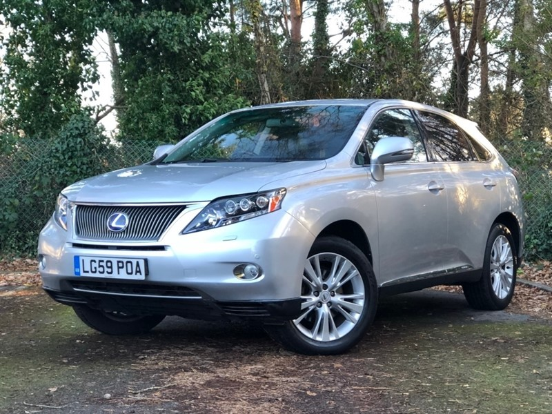 used Lexus RX 450h SE-L Station Wagon CVT 5dr in in-dorset