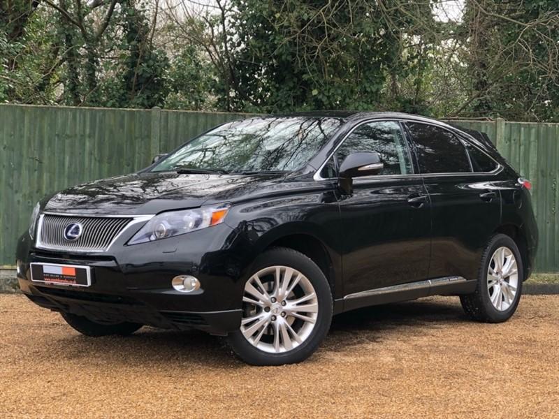 used Lexus RX 450h 3.5 SE-I CVT 4x4 5dr in in-dorset