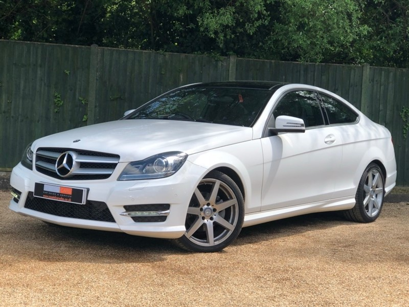 used Mercedes C220 C Class CDI AMG Sport Edition (Premium Plus) 7G-Tronic Plus 2dr in in-dorset