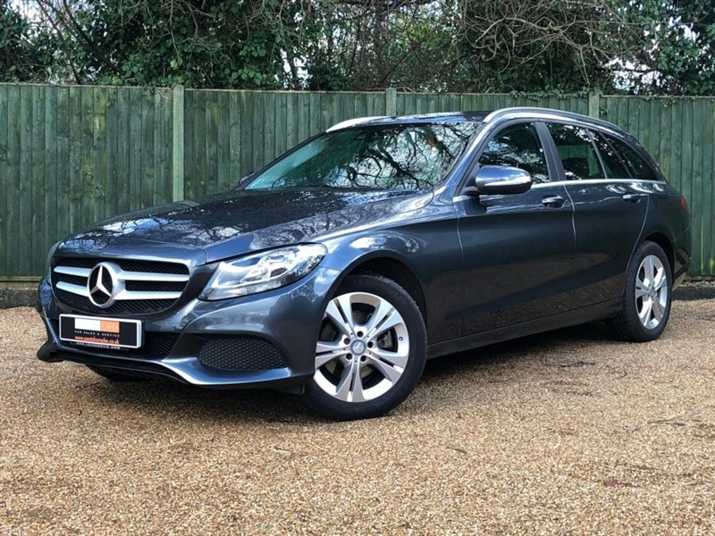 used Mercedes C220 C Class CDI BlueTEC SE (Executive) 7G-Tronic Plus 5dr (start/stop) in in-dorset