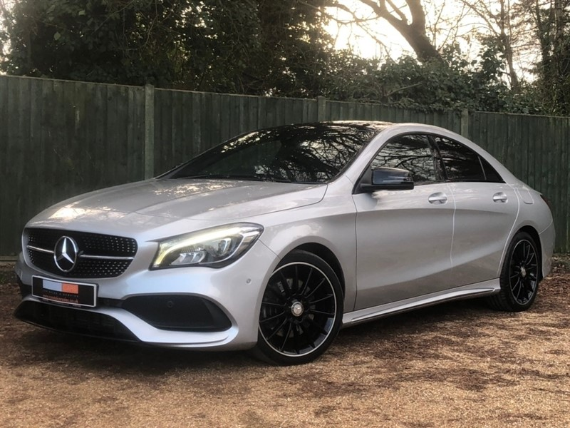 used Mercedes  CLA Class CLA220d AMG Line Coupe 4dr 7G-DCT (s/s) (106 g/km, 175 bhp) in in-dorset