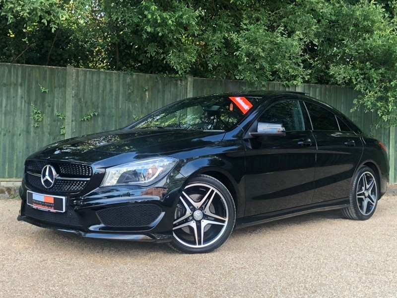 used Mercedes CLA 220 CLA Class CDI AMG Sport 7G-DCT (s/s) 4dr in in-dorset