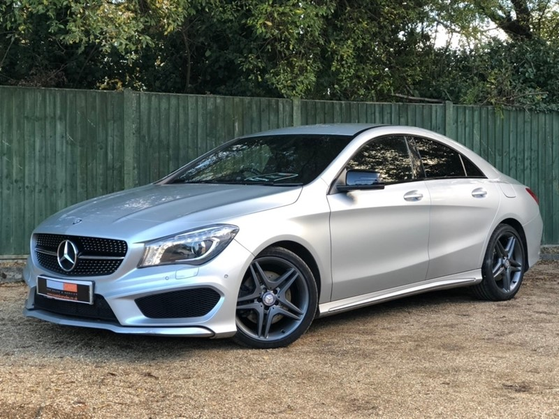 used Mercedes CLA200 CDI CLA Class AMG Sport 7G-DCT 4dr in in-dorset