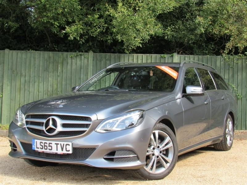 used Mercedes E220 E Class CDI BlueTEC SE 7G-Tronic Plus 5dr in in-dorset