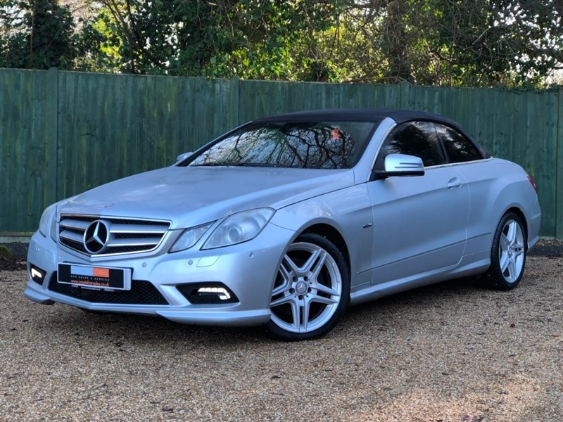 used Mercedes E350 E Class CDI BlueEFFICIENCY Sport 2dr in in-dorset