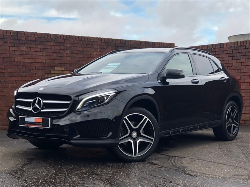 used Mercedes GLA200 GLA Class AMG Line (Premium Plus) 7G-DCT 4MATIC (s/s) 5dr in in-dorset