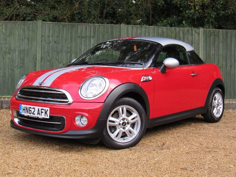 used MINI Coupe Cooper (Pepper) 2dr in in-dorset