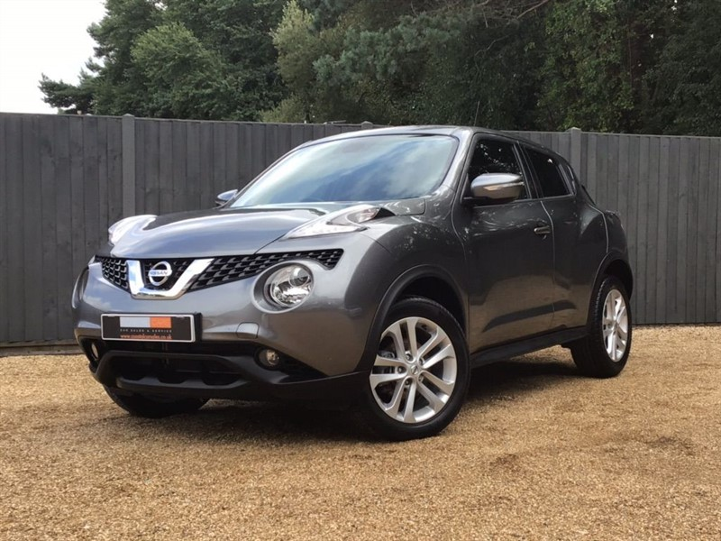 used Nissan Juke DIG-T N-Connecta (s/s) 5dr in in-dorset
