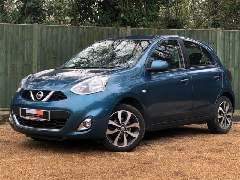 used Nissan Micra DIG-S Tekna 5dr in in-dorset