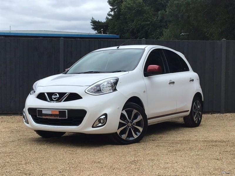 used Nissan Micra n-tec CVT 5dr in in-dorset