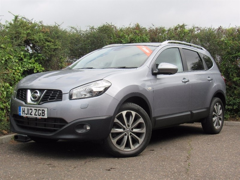 used Nissan Qashqai+2 dCi Tekna 4WD 5dr (start/stop) in in-dorset