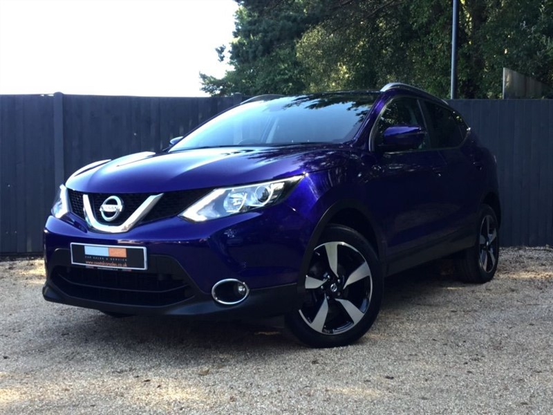 used Nissan Qashqai dCi n-tec+ 5dr in in-dorset