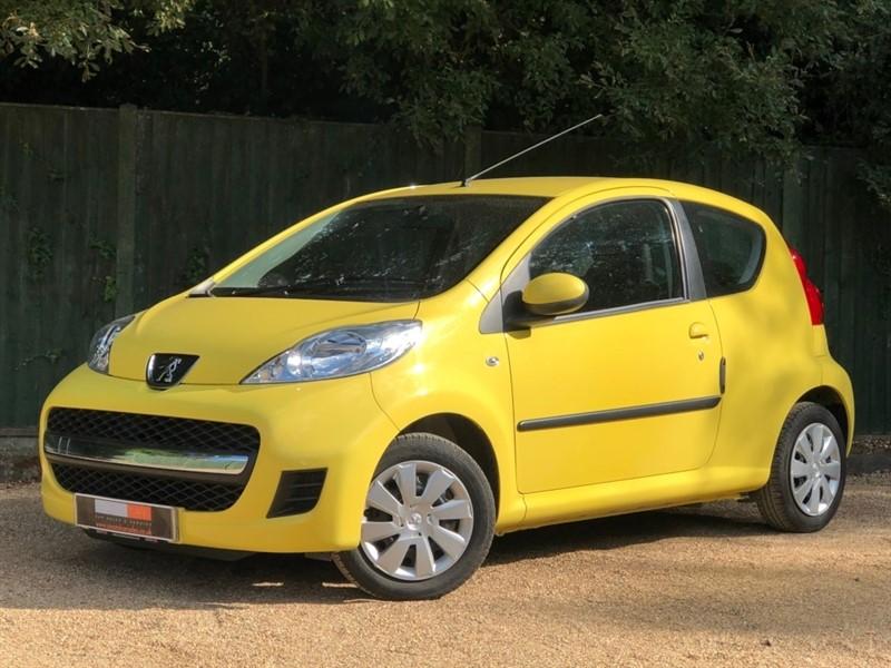 used Peugeot 107 12v Urban 3dr in in-dorset