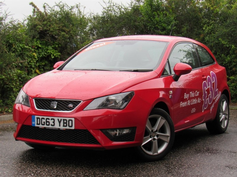 used SEAT Ibiza TDI CR FR SportCoupe 3dr in in-dorset