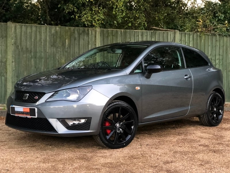 used SEAT Ibiza TSI ACT FR Black SportCoupe (s/s) 3dr in in-dorset