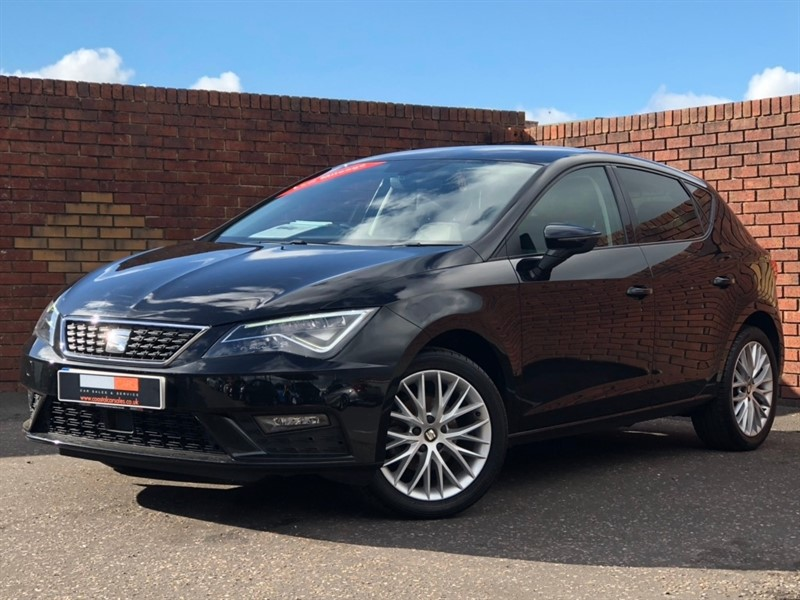 used SEAT Leon TSI SE Dynamic Technology (s/s) 5dr in in-dorset