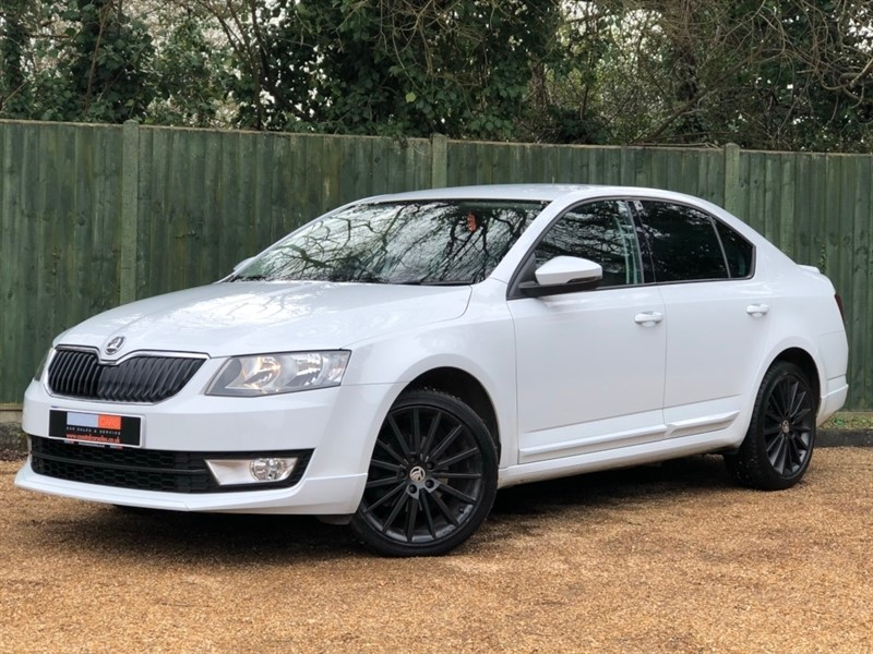 used Skoda Octavia TDI CR DPF Black Edition 5dr in in-dorset