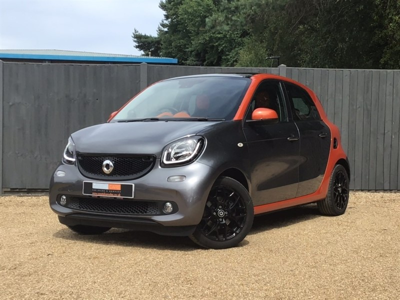 used Smart Car Forfour Edition 1 (s/s) 5dr in in-dorset